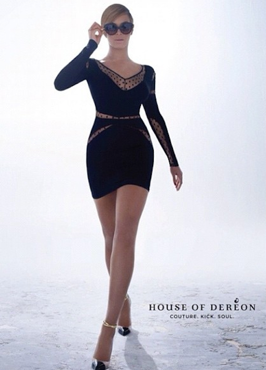 beyonce house of dereon fall winter 2013