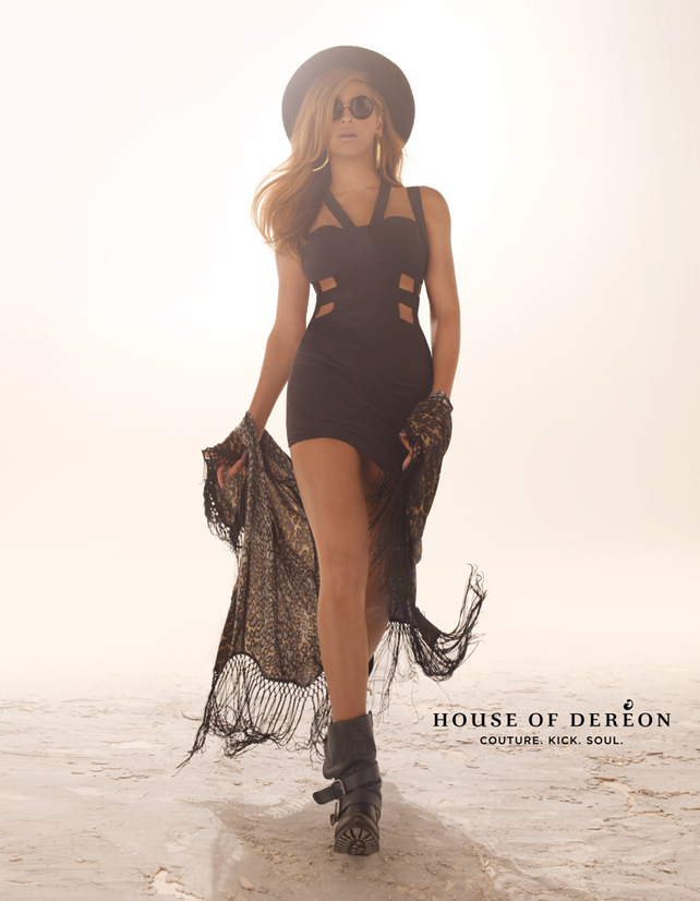 Beyonce for House Of Dereon FW 2013 002