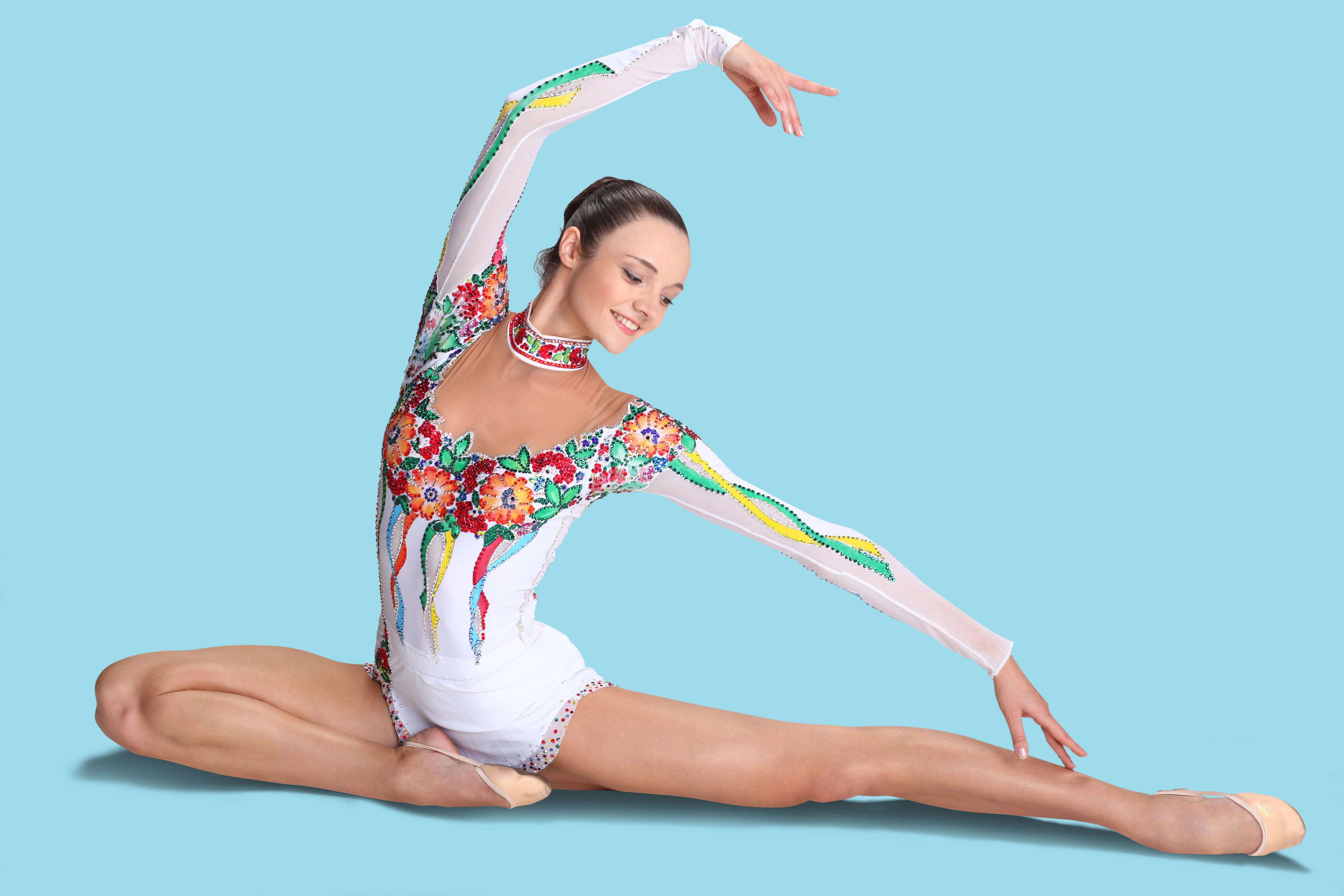 Фотосессия костюмов гимнасток 11 фотография