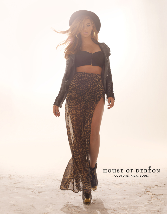 Beyonce for House Of Dereon FW 2013 001