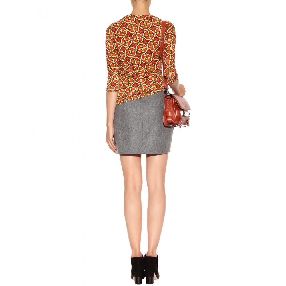 Grey Flannel Skirt 86
