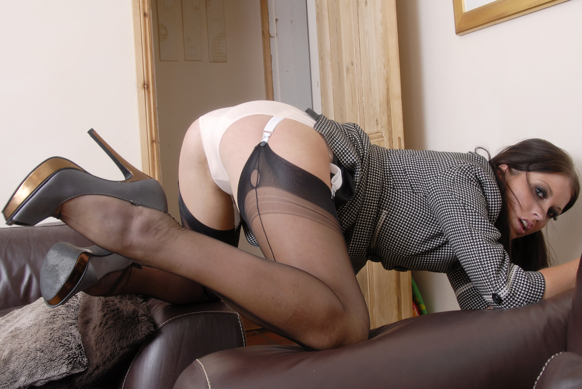 secretary stockings