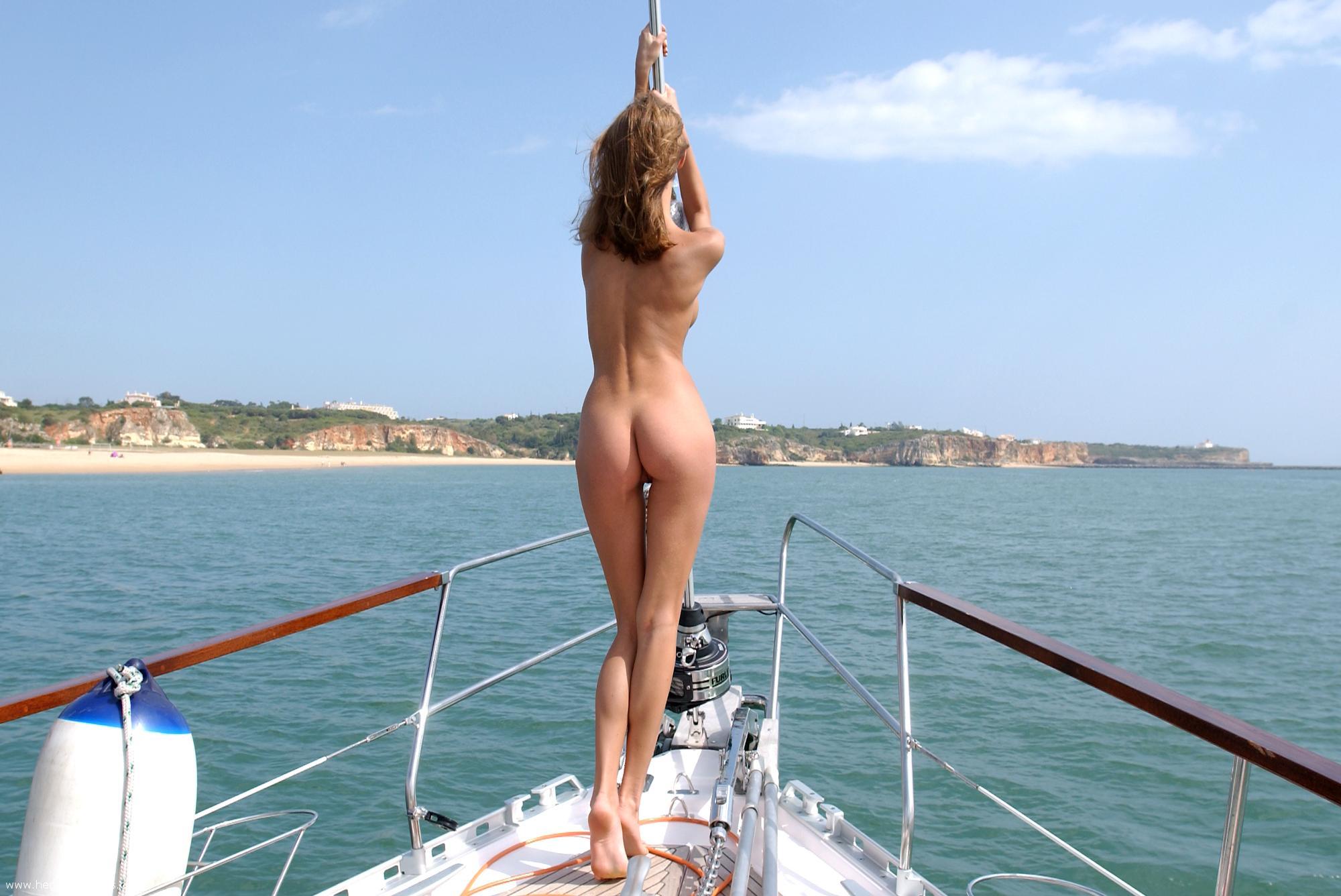 На азовском море секс