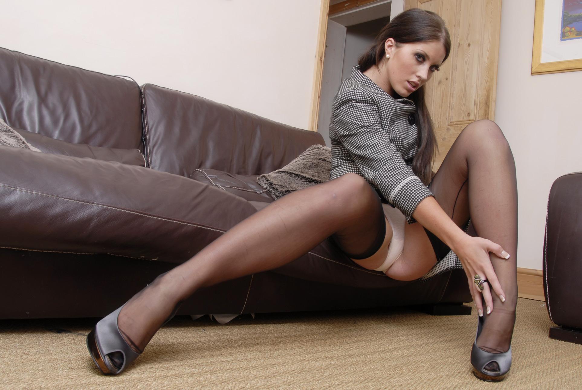 Sexy Stocking Secretaries