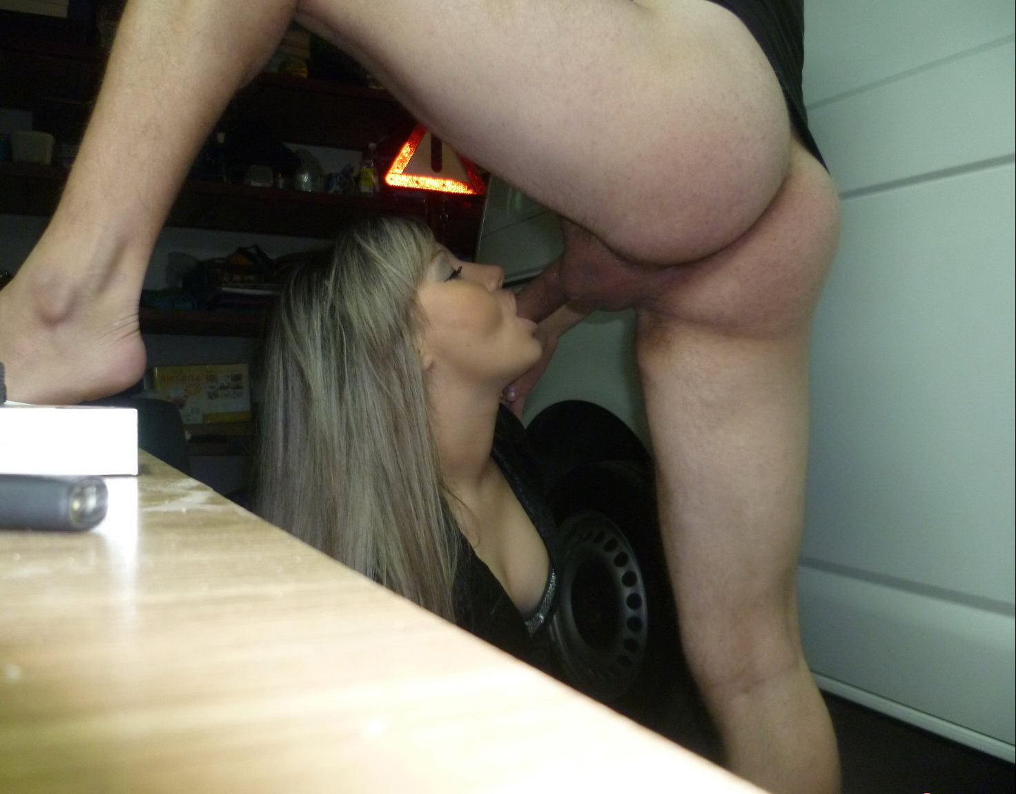 blow job mega wank