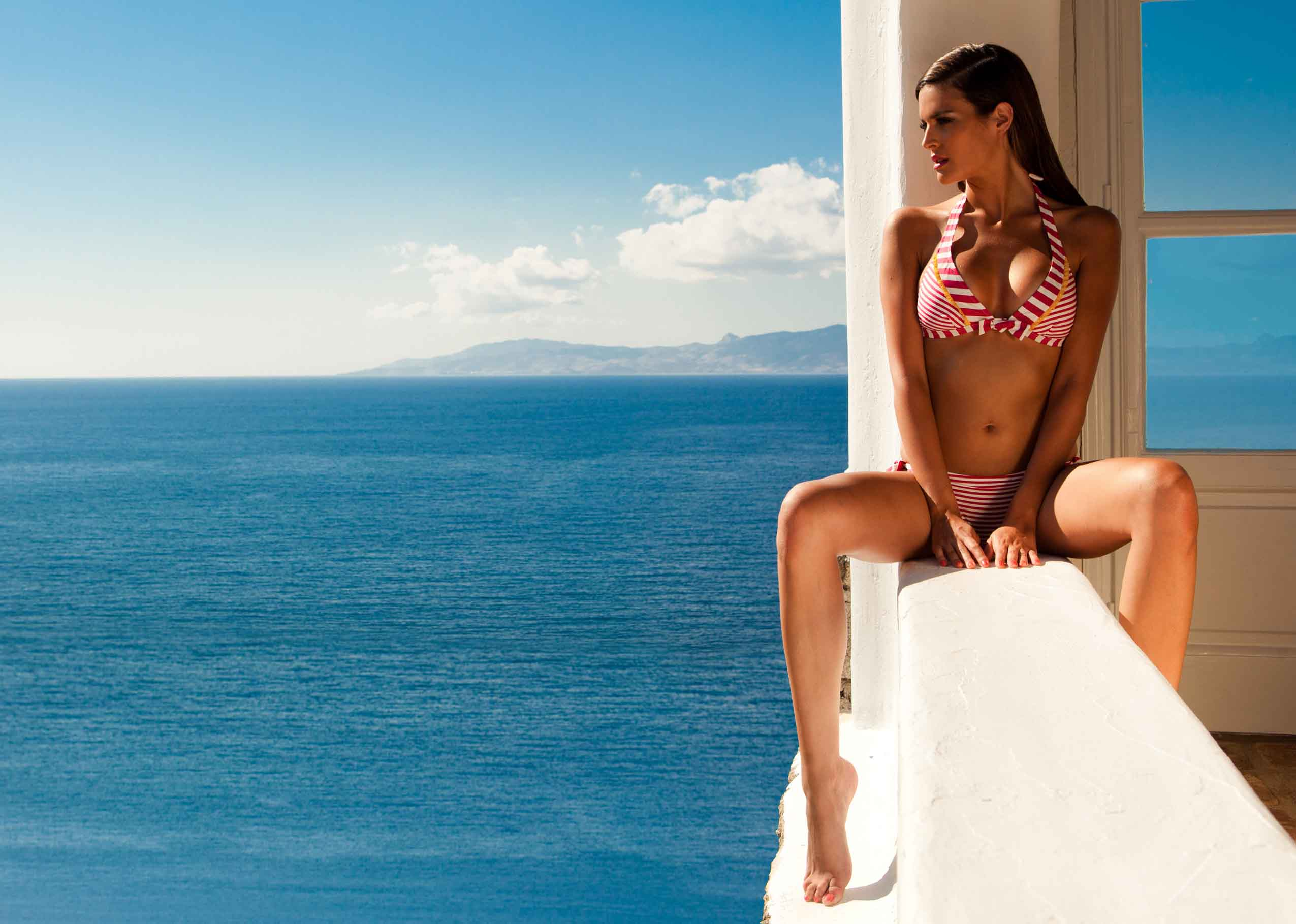 Фото испанских девушек на пляже 10 фотография