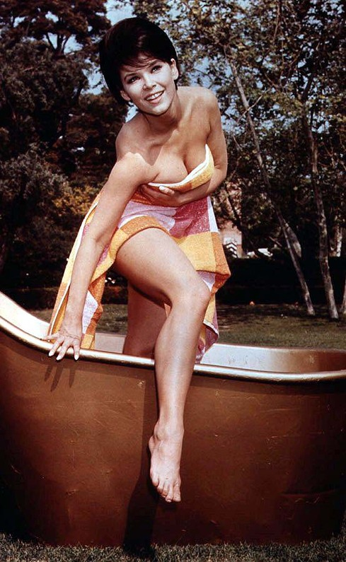 Yvonne Craig cleavage 4