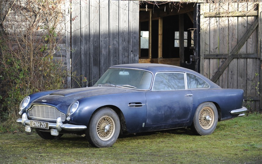 Aston Martin DB 5 Barn Find 002