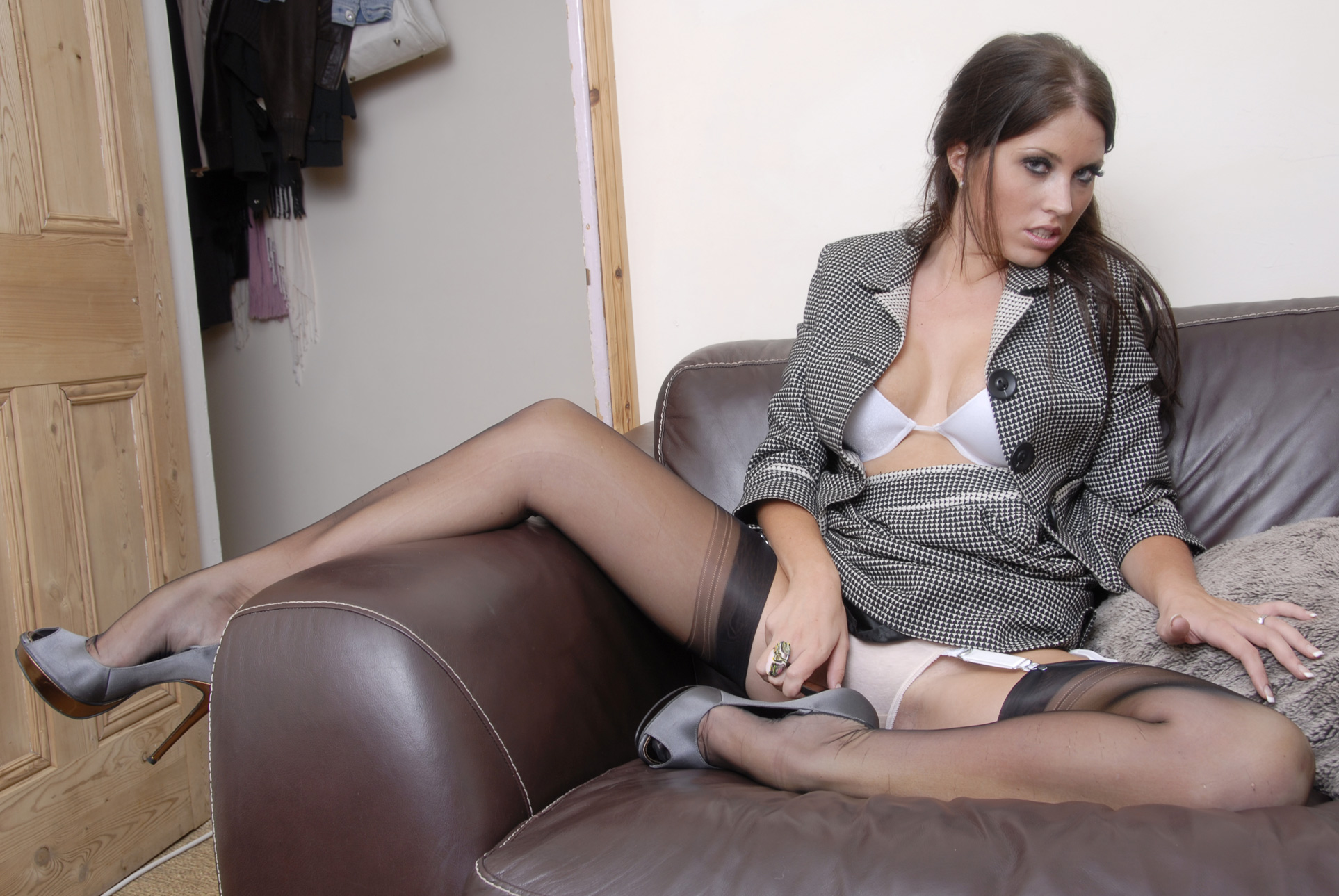 To Enter Pantyhose Sex Links 54