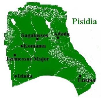 Bronce de Pisidia, Komama. Siglo I a.C. 14609340_mappisidia