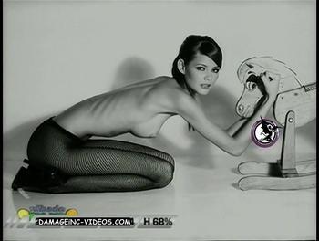 Brazil Model Flavia Oliveira Topless