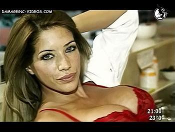 Conejita Playboy argentina en ropa interior
