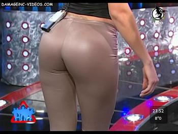El culo en calzas de Johanna Villafañe